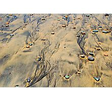 Ink-stained Beach Photographic Print