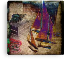 Nautica-III Canvas Print