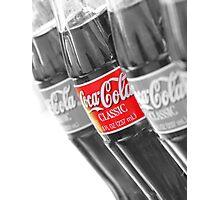 Coca-Cola Bottles Photographic Print