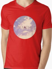 Breathe Mens V-Neck T-Shirt