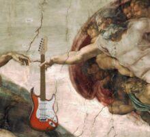 Guitar God Sticker