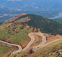 Pikes Peak Vista 3 by Terry Watts