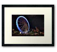 Wheel of Brisbane Framed Print