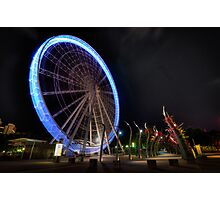 Wheel of Brisbane Photographic Print
