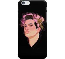 Brendon Flower Crown iPhone Case/Skin