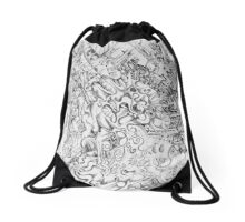 The Clown within Drawstring Bag