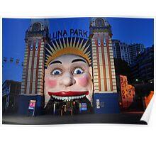 Luna Park, Sydney Poster