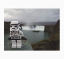Dave Stormtrooper  Iceland Waterfall Kids Clothes