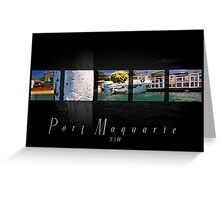 High Tide Port Macquarie Greeting Card
