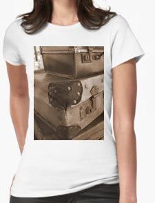 on the case! Womens Fitted T-Shirt