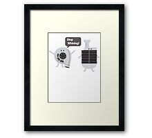 Stop Whining! Framed Print
