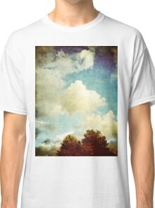 Two Trees and Clouds Classic T-Shirt