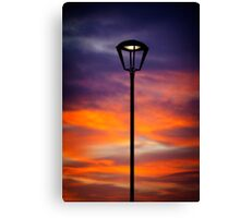 Twilight Lamp Canvas Print