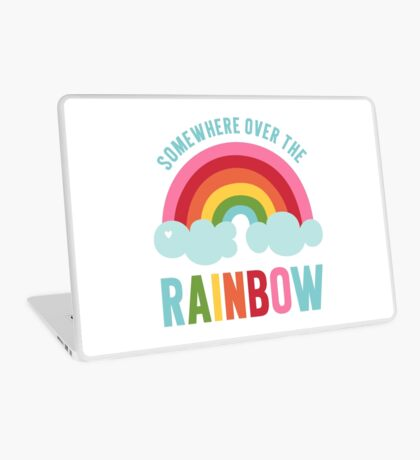 Somewhere Over the Rainbow Laptop Skin