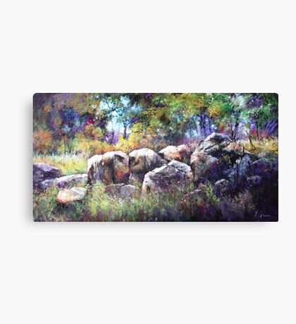 Granite Henge Canvas Print