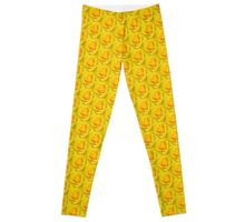 Beautiful Yellow Rose Closeup  Leggings