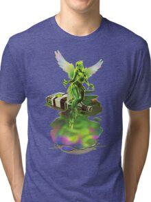 Absynthe - 'The Green Fairy' Tri-blend T-Shirt
