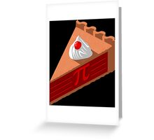 Slice of Pi Greeting Card