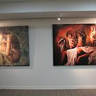Paintings under lights !! 3 by Warren Haney