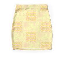 yellow flowers Mini Skirt