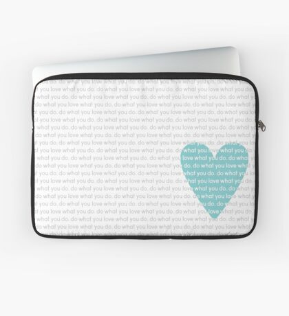 Do What You Love News Laptop Sleeve