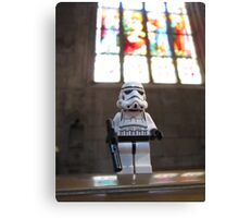Dave Stormtrooper at Church Canvas Print
