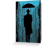 Downpour Greeting Card