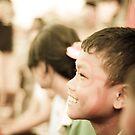 Face in a crowd by Daniel Neuhaus