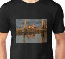 Sunset Photographer on a Pier Unisex T-Shirt