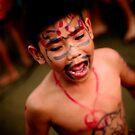 Thai Warrior Boy by Daniel Neuhaus