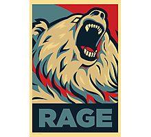 RageBear For President Photographic Print