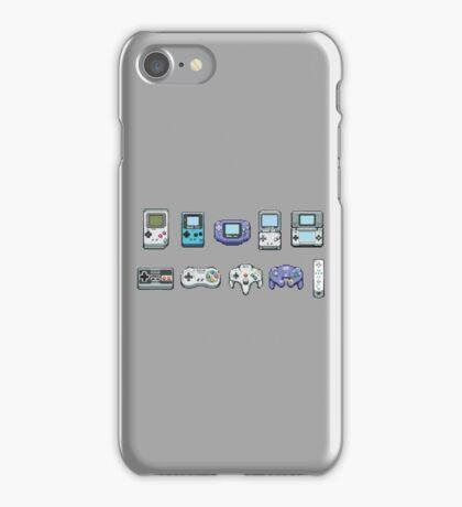 Nintendo consoles iPhone Case/Skin