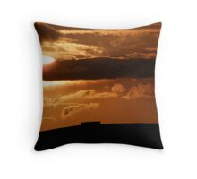 Grianian of Aileach Sunset ,Donegal, Ireland  Throw Pillow