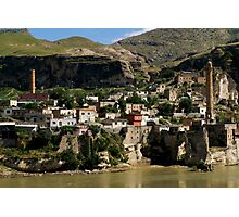 Hasankeyf at Tigris River Photographic Print
