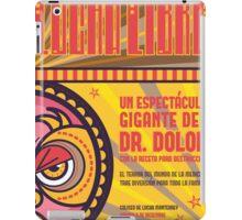Dr. Dolor - Lucha Libre iPad Case/Skin