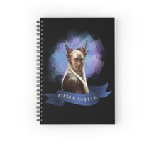 Fierce As F#ck tshirt NSFW Spiral Notebook