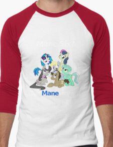Too Manestream Men's Baseball ¾ T-Shirt