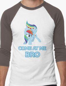 Dash At Me Bro Men's Baseball ¾ T-Shirt