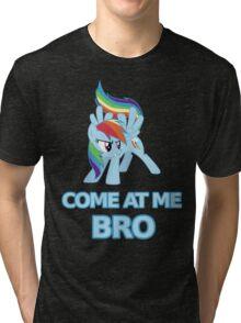 Dash At Me Bro Tri-blend T-Shirt