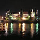 Wrocław nocą by JerzyS