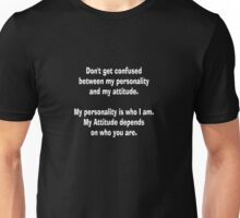 Quote Tee personality Unisex T-Shirt