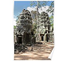 Ta Prohm Towers Poster