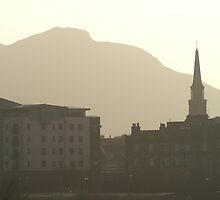 The City from Leith by Nik Watt