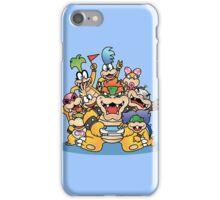 Koopa family iPhone Case/Skin