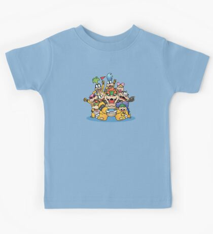 Koopa family Kids Tee