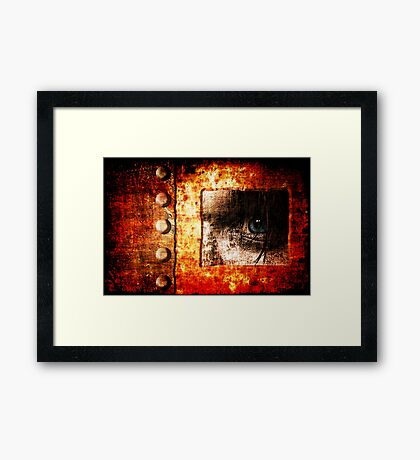 I'm Looking Through You Framed Print