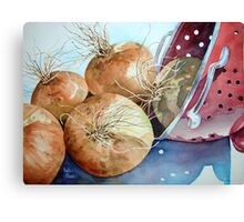 First Harvest Canvas Print
