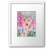 Cottage Garden Summer Framed Print