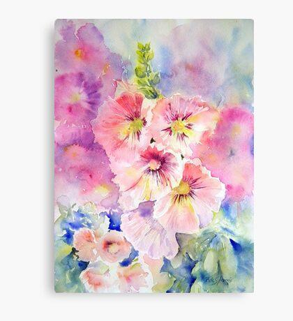 Cottage Garden Summer Canvas Print