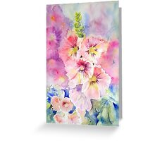 Cottage Garden Summer Greeting Card